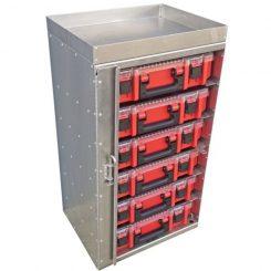 Parts Organizer Tower - Fits 6 Dewalt/Milwaukee bins