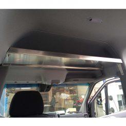 Sprinter Over-Head Shelf, Small, Bare Aluminum (#360002-BA)