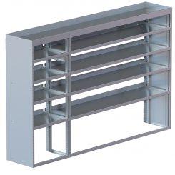 "Cube Shelving Unit, Std. Tray, 18""D x 61""H x 94""L (#360023)"