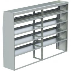 "Cube Shelving Unit, Std. Tray, 18""D x 65""H x 95""L (#360030)"