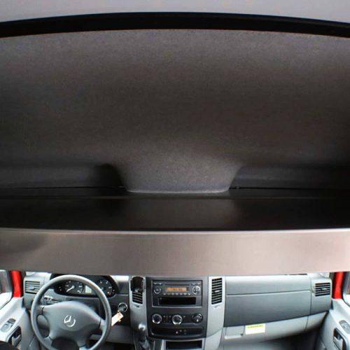 Sprinter Over-Head Shelf, Large, Black Powdercoat (#360001)