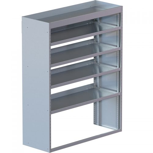"Cube Shelving Unit, Std. Tray, 18""D x 61""H x 48""L (#360021)"