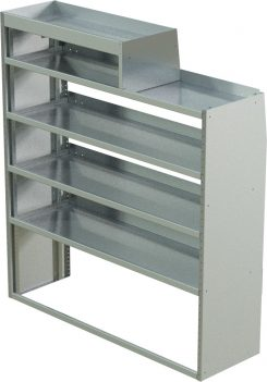 """ProMaster Tapered Shelving Unit, RH Notched, 18""""D x 57""""H x 58""""L (#360319)"""