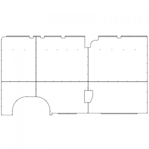 ProMaster Interior Wall Panels HR 159WB Std. Driver-side