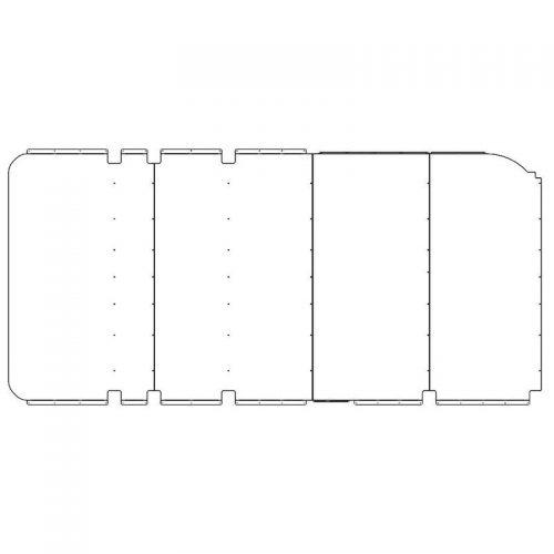 ProMaster Interior Ceiling Panels HR 159WB Std.