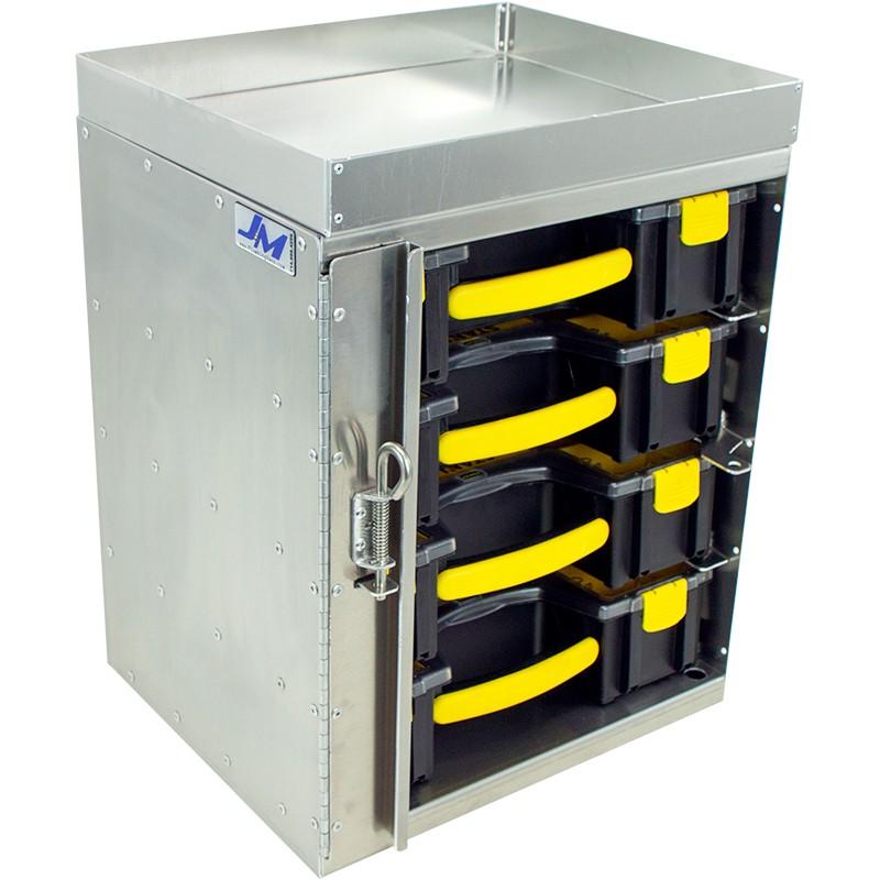Parts Organizer TowerFits 4 Stanley binsSKU: 030001