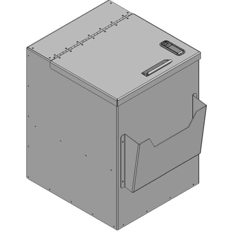 "Cargo/Box TruckCab Organizer Cab Organizer - 16""HSKU: 040002"