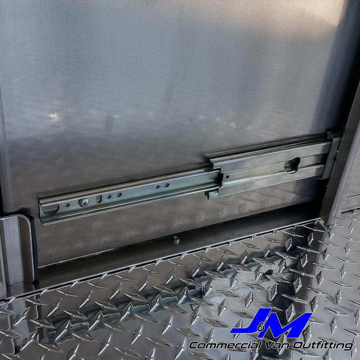 SprinterSliding Door Partition Low Roof