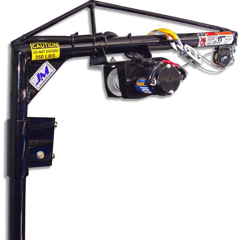 "Utility VanRear Door - 36"" BoomElectric Hoist KitSKU: 130030"