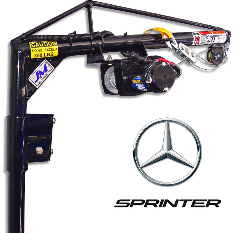 Sprinter - Low RoofRear Driver-side DoorElectric Hoist KitSKU: 130017