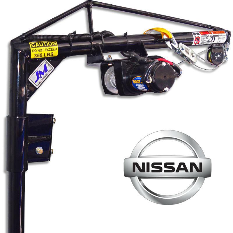 Nissan NV - Low RoofRear Passenger-side DoorElectric Hoist KitSKU: 130023