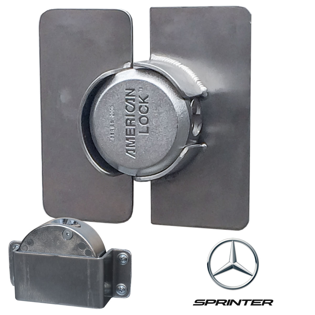 2007+ SprinterPuck Lock Kit Sliding DoorSKU: 170002