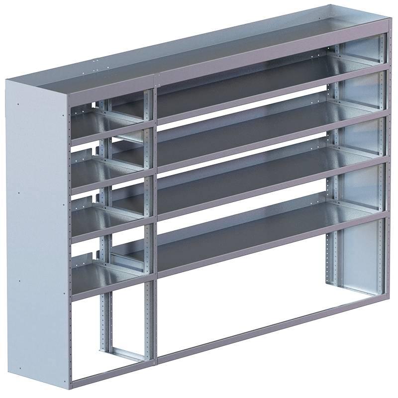"""Cube Shelving UnitStd. Tray18""""D x 65""""H x 94""""LSKU: 360029"""