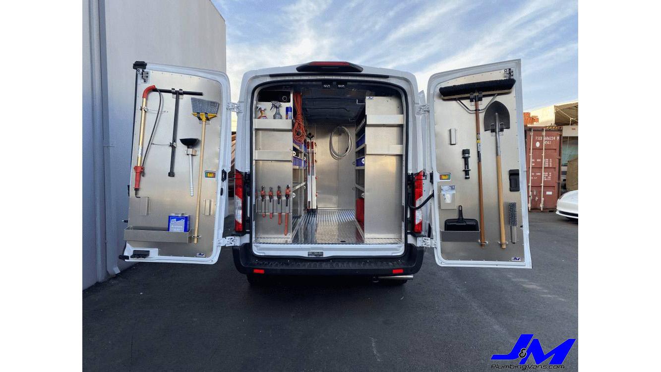 Ford Transit Door PanelMid Roof Rear Full PassengerTool MountSKU: 050161